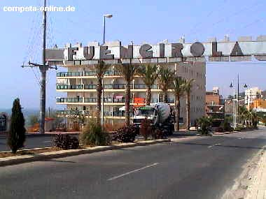 Fuengirola in Andalusien an der Costa del Sol - September 2001