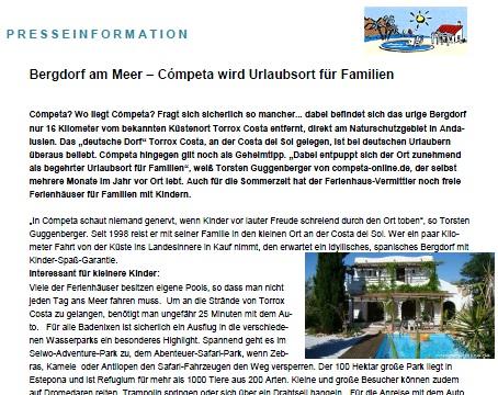 Pressemitteilung competa-online.de